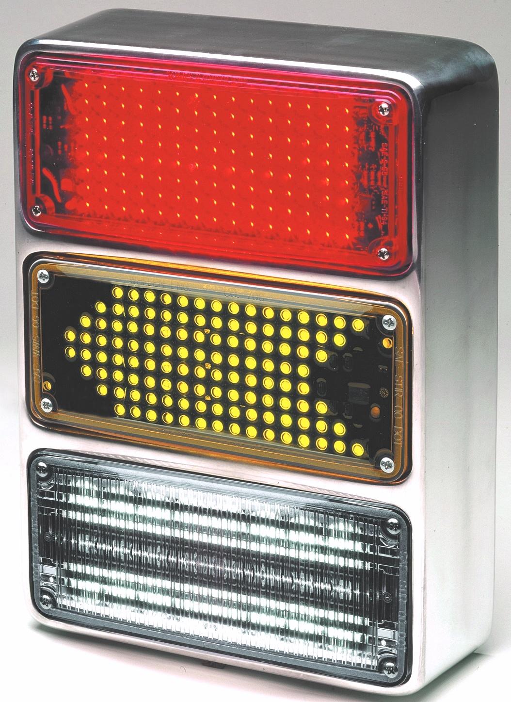 whelen replacement strobes: whelen 700 series 3 lamp aluminum housing