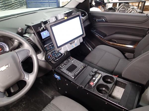 "Chevy Silverado Replacement Seats >> Havis 2015-2019 Chevrolet Tahoe Police 23"" Console - StrobesNMore.com"
