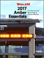 Whelen - 2017 Amber Essentials Catalog