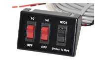 Selectable Switch for the Whelen CSP & Pro Series Power Supplies