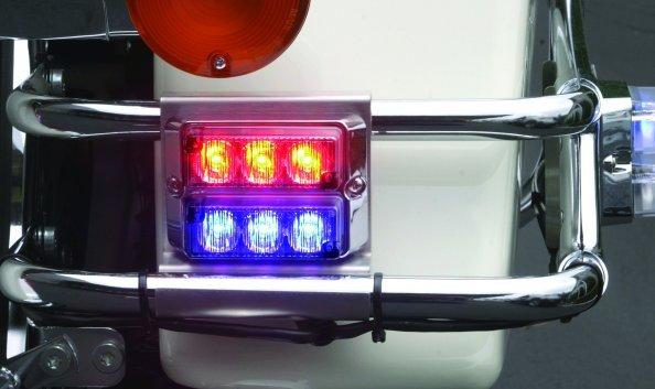 whelen tir3™ super led® strobesnmore com whelen tir3 harley davidson rear mount