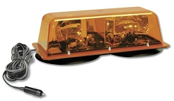Star/SVP Amber Fast Rotating Mini Lightbar