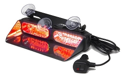 Whelen Dual Avenger® Super-LED® Dash Light in Red/Red - SALE!