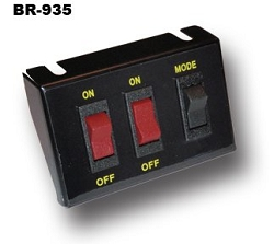 Brooking Industries Universal Lighted 3-Button Switch Panel