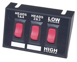 Lighted Universal High / Low Selectable Switch