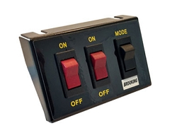 Brooking Industries Universal Lighted 3 Button Switch