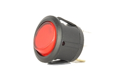 Universal Round Lighted Rocker Switch  #10