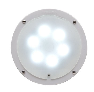 "Whelen 8"" Round Super-LED® Ambulance Interior Light"