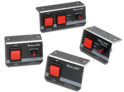 Whelen Remote Switches for Alpha™ Sirens