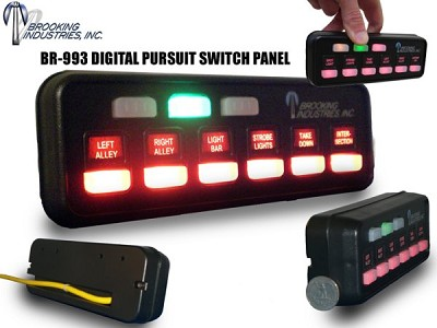 Brookings Digital/Programmable Pursuit Switch Panel