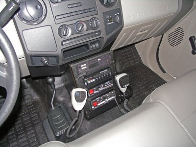 2008-2010 Ford F250 Vehicle Console