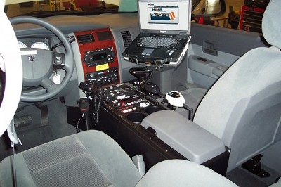 "Havis 2004-2009 Dodge Durango Vehicle 30"" Console"