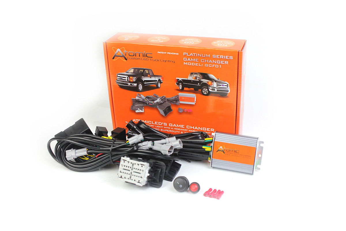 Atomic Game Changer Led Flasher Ford Interceptor Utility Wiring Harness Kits Quick View