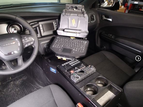 """Havis 2011-2017 Dodge Charger 18"""" Console with Internal ..."""
