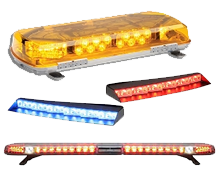 Full Size, Mini, Tow, Interior and Undercover Lightbars