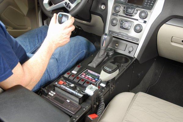 Havis 2011 2015 Ford Explorer 16 Quot Console Strobesnmore Com