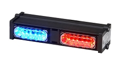 Whelen Dominator Plus™ 2 Interior RED LINZ6™ Super-LED® - SALE!