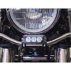 Whelen Harley-Davidson® Under Headlight Mounting Bracket Kit