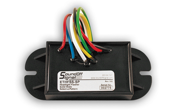Soundoff Signal Select A Pattern Headlight Flasher