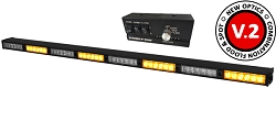 Strobes N' More E68 Traffic Advisor LED Stick with Controller and Removable Optics!