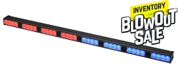 Strobes N' More E48 Red/Amber/Blue LED Stick