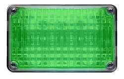 Whelen Green 400 Series Single Level Super-LED