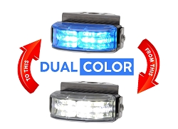 Strobes N' More 180° Crescent Dual Color Lighthead