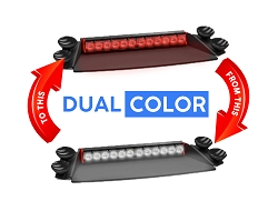 Feniex Fusion 2X Dual Color Dash LED