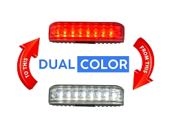Strobes N' More Dual & Trio Color X8 LED Lighthead