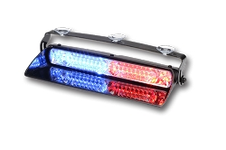 Whelen Avenger II DUO Dual Combination Linear/TIR Super-LED Dash Light