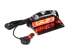 Whelen Avenger II SOLO Single Combination Linear/TIR Super-LED Dash Light