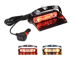 Whelen Avenger II DUO Single Combination Linear/TIR Super-LED Dash Light