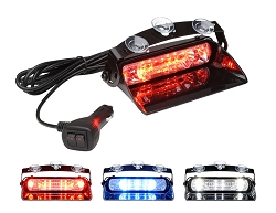 Whelen Avenger II TRIO Single Combination Linear/TIR Super-LED Dash Light