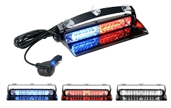 Whelen Avenger II TRIO Dual Combination Linear/TIR Super-LED Dash Light