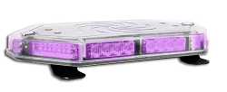 Strobes N' More Purple Galaxy Elite Mini Lightbar