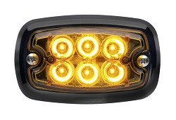 Whelen M2 Super LED Black Flange