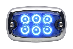Whelen M2 Super LED Chrome Flange