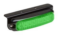Whelen Green Micron Series Super-LED Lighthead