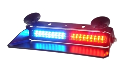 Strobes N' More Dual & Trio Color 2X9 Dash Light