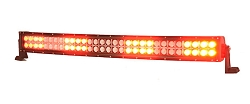 Strobes N' More Tru-Dual EFlood 11000 RED Warning/Flood Bar