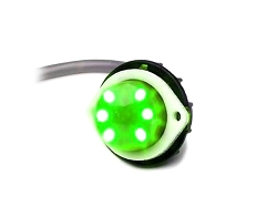 Whelen Green Vertex Super-LED Lighthead
