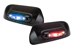 Whelen Mirror-Beam ION V-Series Mirror Mounted Super-LED Lightheads