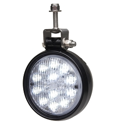 Whelen PAR-36 Round Super-LED Work Light with Stud/Swivel Mount