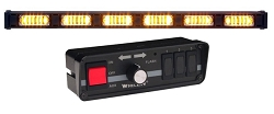 Whelen 6 Lamp LINZ6 Super-LED Traffic Advisor with Controller