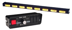 Whelen 8 Lamp LINZ6 Super-LED Traffic Advisor with Controller