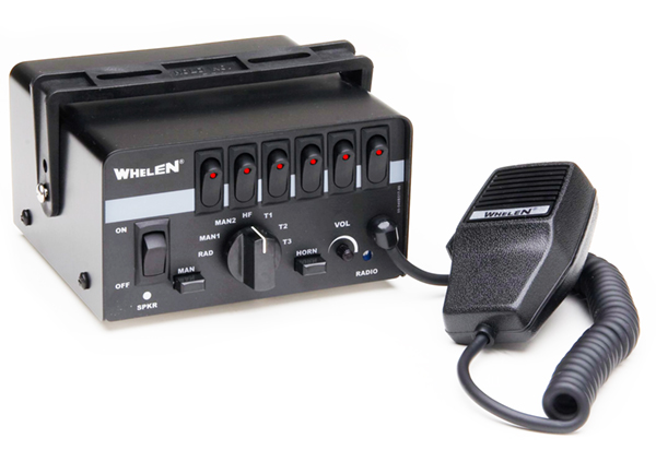 Whelen Epsilon™ Siren with 6 Function Switchbox - StrobesNMore.comStrobes N More