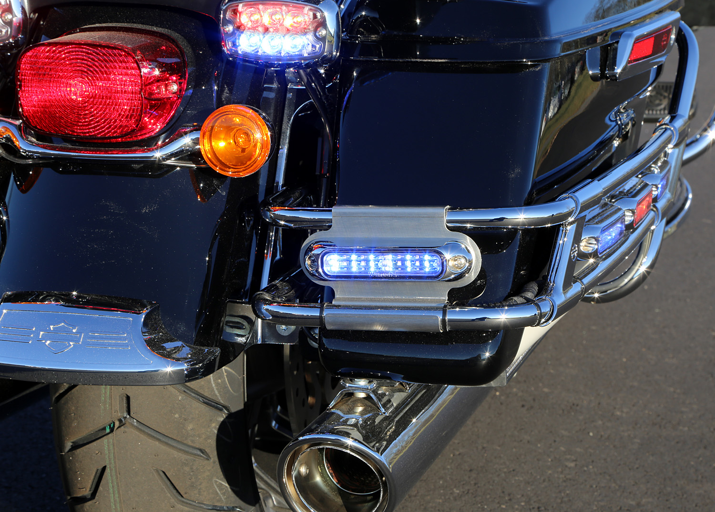 Whelen Harley Davidson Ion Saddle Bag Mounts Strobesnmore Com
