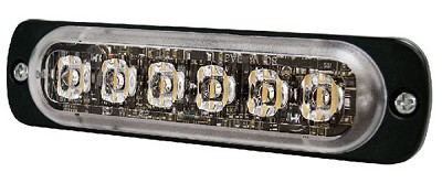 Brooking Industries 6 LED Super-Thin Surface Mount