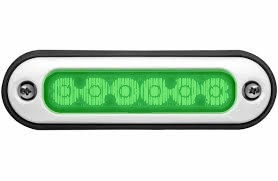 Whelen Green ION Surface Mount Series Super-LED