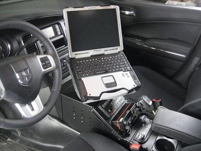 Havis 2011 2019 Dodge Charger 17 Quot Console Strobesnmore Com